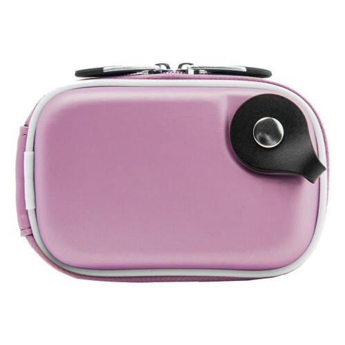 Small Pouch Bag W/Clip For Canon Powershot IXUS190/Sony