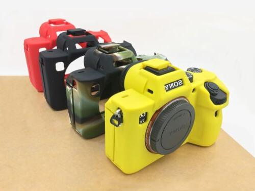 Soft Silicone Rubber Camera Bag Case Skin For SONY A7RIII A7