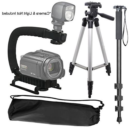 Camera Support Bundle For: Canon PowerShot G1, G1
