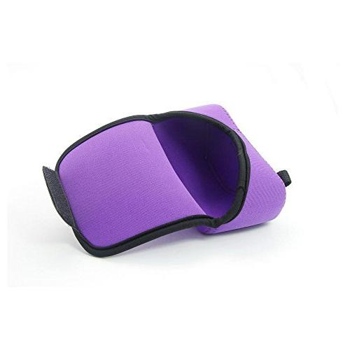 Dengpin Light Soft Protective Case Cover Sony Alpha ILCE-6000L, A6000 Purple Pouch