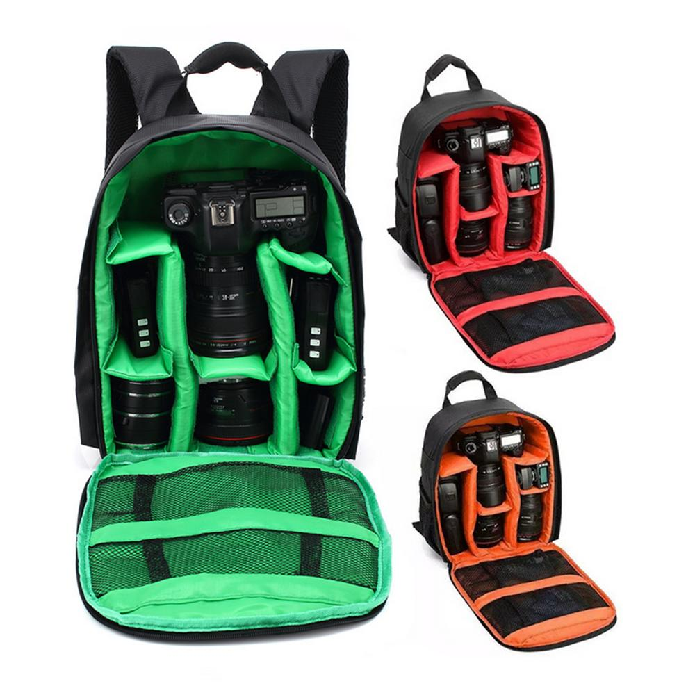US Waterproof Camera Backpack Bag Case for DSLR and Lens for