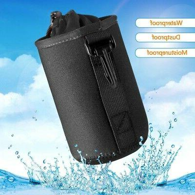 Waterproof Camera Lens Bag Padded Pouch Carry Small Case Sho