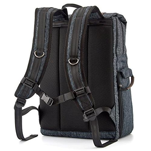 Evecase Resistant Convertible SLR DSLR Backpack Rain Cover Camera Compartment,
