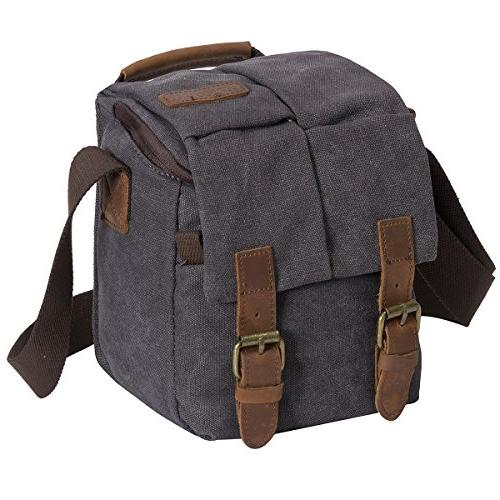 Waterproof Canvas DSLR Shoulder Bag­