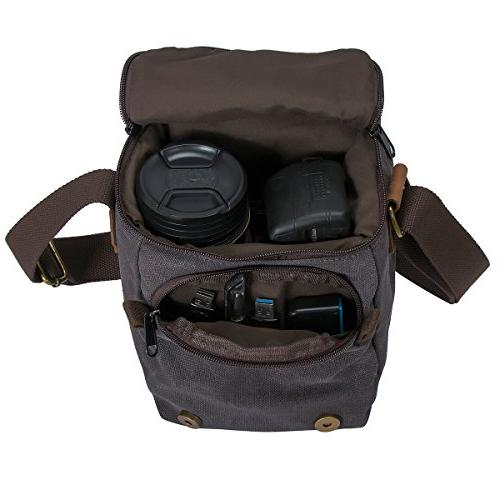 Waterproof DSLR Shoulder Messenger Bag­