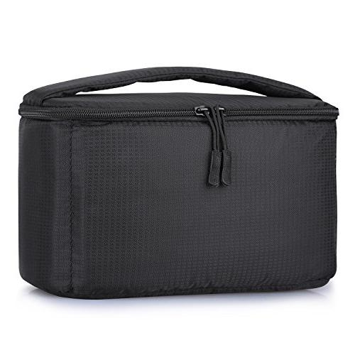 S Zone Waterproof Camera Insert Bag With Sleeve Camer