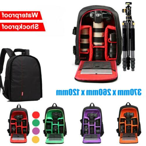 waterproof large dslr shockproof camera backpack bag