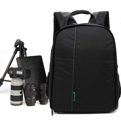 waterproof nylon dslr lenses hiking shoulder bag