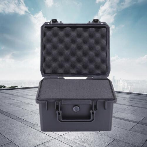 waterproof protective hard camera case with foam