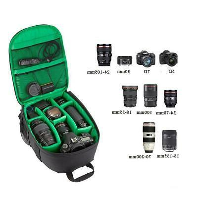 Waterproof Bag Shockproof Case Rucksack For Nikon-Canon