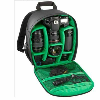 Waterproof SLR Camera Bag Case Backpack