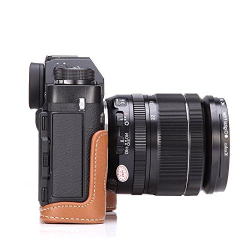 X-T3 Genuine Leather Camera Case for X-T2 XT2 XT3 Bottom Opening Version Strap