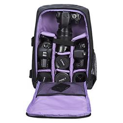 060668aebf G-raphy Camera Backpack Waterproof for DSLR SLR Cameras