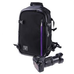 Large Travel Camera Backpack Bag for Canon Nikon Sony DSLR &