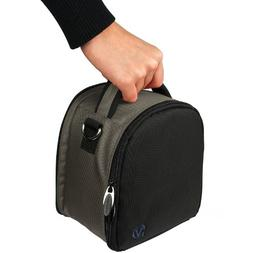 Laurel Gray Compact Travel Slim Carrying Case For Nikon Cool