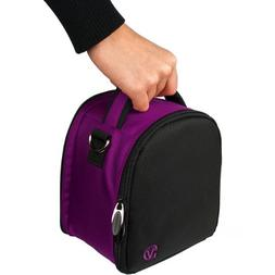 VanGoddy Laurel Plum Purple Carrying Case Bag for Nikon Cool