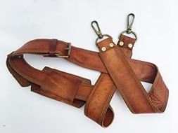 VINTAGE COUTURE Leather Adjustable Padded Replacement Should