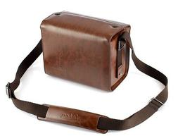 Leica Leather Camera Shoulder Messenger Bag