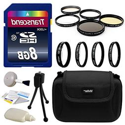 Professional Lens and Filters Accessories Bundle for Sony Al
