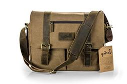Messenger Bag for Camera and Laptop // Premium Grade Leather