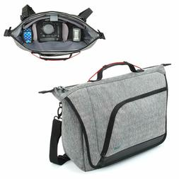 Messenger Camera Bag w/ Customizable Dividers and Weather Re