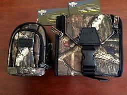 Mossy Oak Binocular Case & Camera  Bag Camo Combo Pack Break