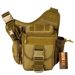 DYJ® Multi-functional Tactical Messenger Bag Fishing Tackle