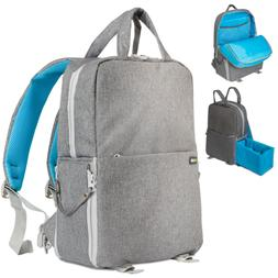 Deco Gear Multifunction Camera Backpack for Canon, Nikon, So