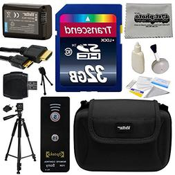 Must Have Accessories Bundle Kit for Sony A3000, A3500, A500