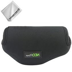 First2savvv Neoprene Camera Case Bag for Olympus OM-D E-M10