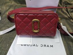 NWT Genuine Marc Jacobs THE QUILTED SOFTSHOT 21 Camera Bag c
