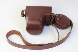 For Olympus Pen-F Penf Pen F Retro Real Genuine Leather Came