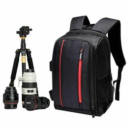 Outdoor Waterproof Large DSLR Camera Backpack Compact Travel