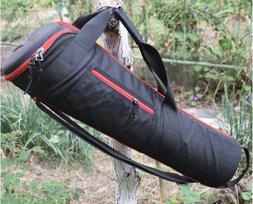 Padded Monopod Tripod Hard Storage Bag Shoulder Strap Handba