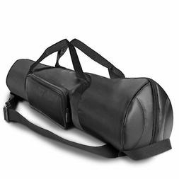 Padded Tripod Case by USA Gear with Expandable Compartment &