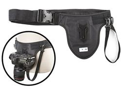 Movo Photo MB600 Universal Camera Belt Holster System for DS