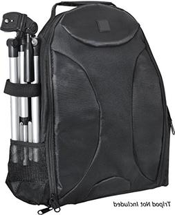 Photography BackPack For: Canon PowerShot ELPH 180 - Tripod