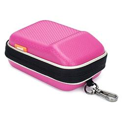 Pink Hard Shock Resistant Resistant Compact Digital Camera C