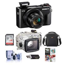 Canon PowerShot G7 X Mark II Digital Point & Shoot Camera -