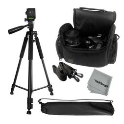 "Pro 60"" Tripod with Deluxe Camera Case Bag for Canon, Nikon,"