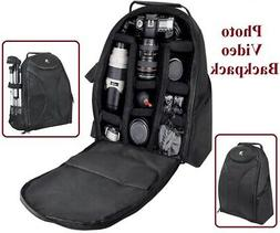 Pro Deluxe Backpack Case Bag For Canon EOS Rebel 10D 30D 5D