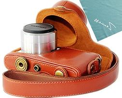 PDXD-share Protective Leather Camera Case Bag for Samsung NX