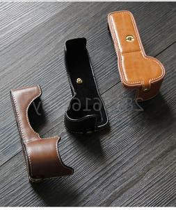 Pu Leather Case Bottom Opening Version Protective Half Body