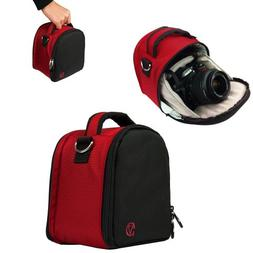 HOT RED VanGoddy Laurel Compact DSLR & SLR HD Digital Camera