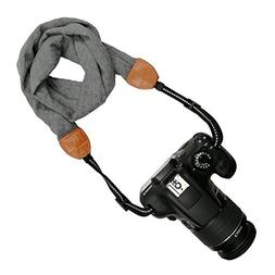 Sornean Camera Scarf Shoulder Neck Strap Women Bohemia Flora