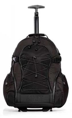 Tenba Shootout Medium Backpack with Wheels - Black