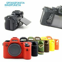Silicone Camera Case Bag Cover Protector for Sony A9 A7R3 A7