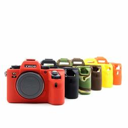 Silicone Camera case Rubber Bag Cover for Sony A9 A7R3 A7III
