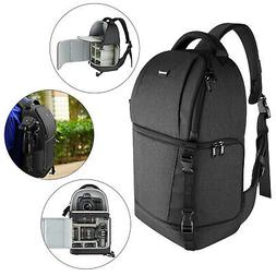 Neewer Sling Camera Bag Case Backpack with Padded Dividers f