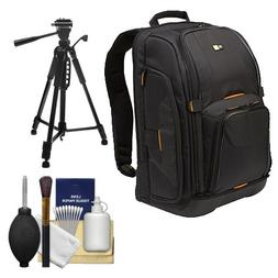 Case Logic Digital SLR Camera Backpack Case   + Tripod + Acc